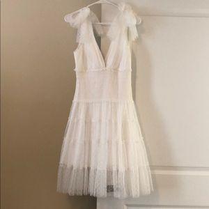 Cinq a sept white dress